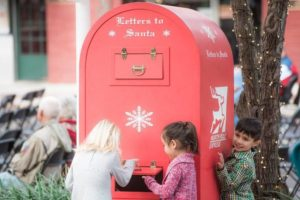 Letter to Santa at Dickens on Centre