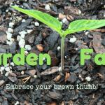 Gardening Fails: Embracing My Brown Thumb