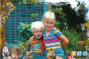 We also love these photos the Zoo takes upon arrival. I can't resist buying one (using my discount!) when both of my kids are actually smiling at the camera!