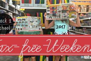 Tax-Free Weekend: 6 Ways to Save Big for Back-to-School!