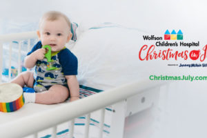 Wolfson Children's Hospital Christmas in July