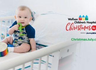 Wolfson Children's Hospital Christmas in July