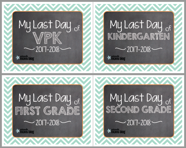 Free First Day Of School Last Day Of School Printables