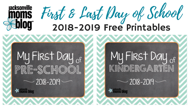 First and Last Day of School Printable
