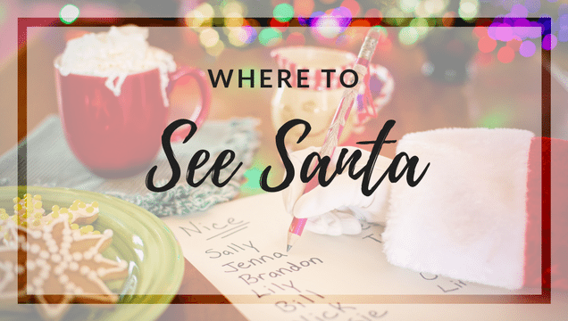 Where To See Santa In Amp Around Jacksonville Dining Amp Photos