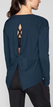 Essence Twist Long Sleeve, $64, Athleta