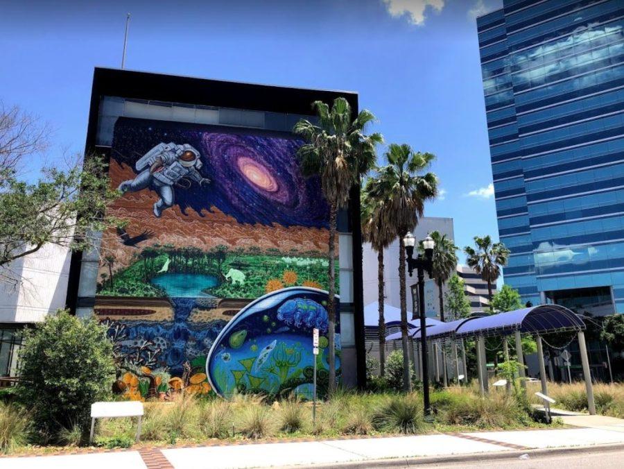 Art Design On Buildings Jacksonville Fl 2017