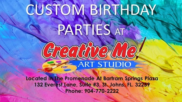 Looking For A Fun And Different Venue Hosting Your Next Birthday Party Creative Me Art Studio Offers The Unique Opportunity You To Host Custom