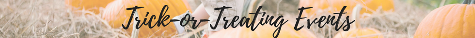 Trick or Treating Halloween Events Jacksonville