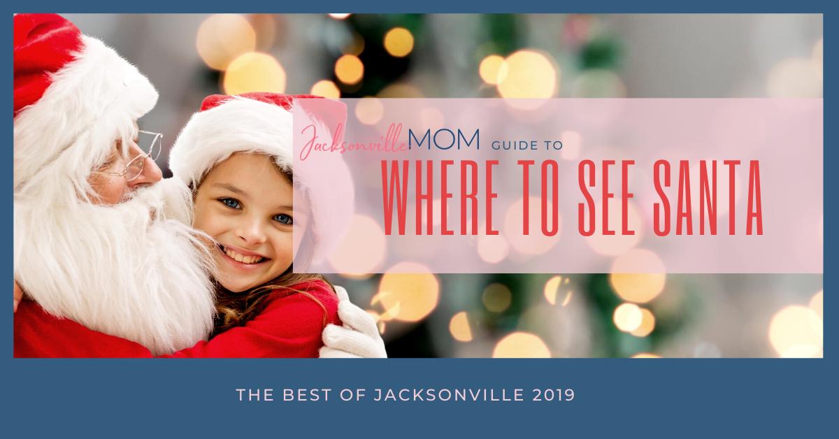 Where to See Santa Jacksonville
