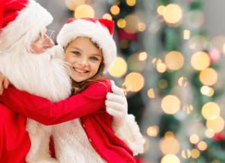 Where to See Santa Jacksonville