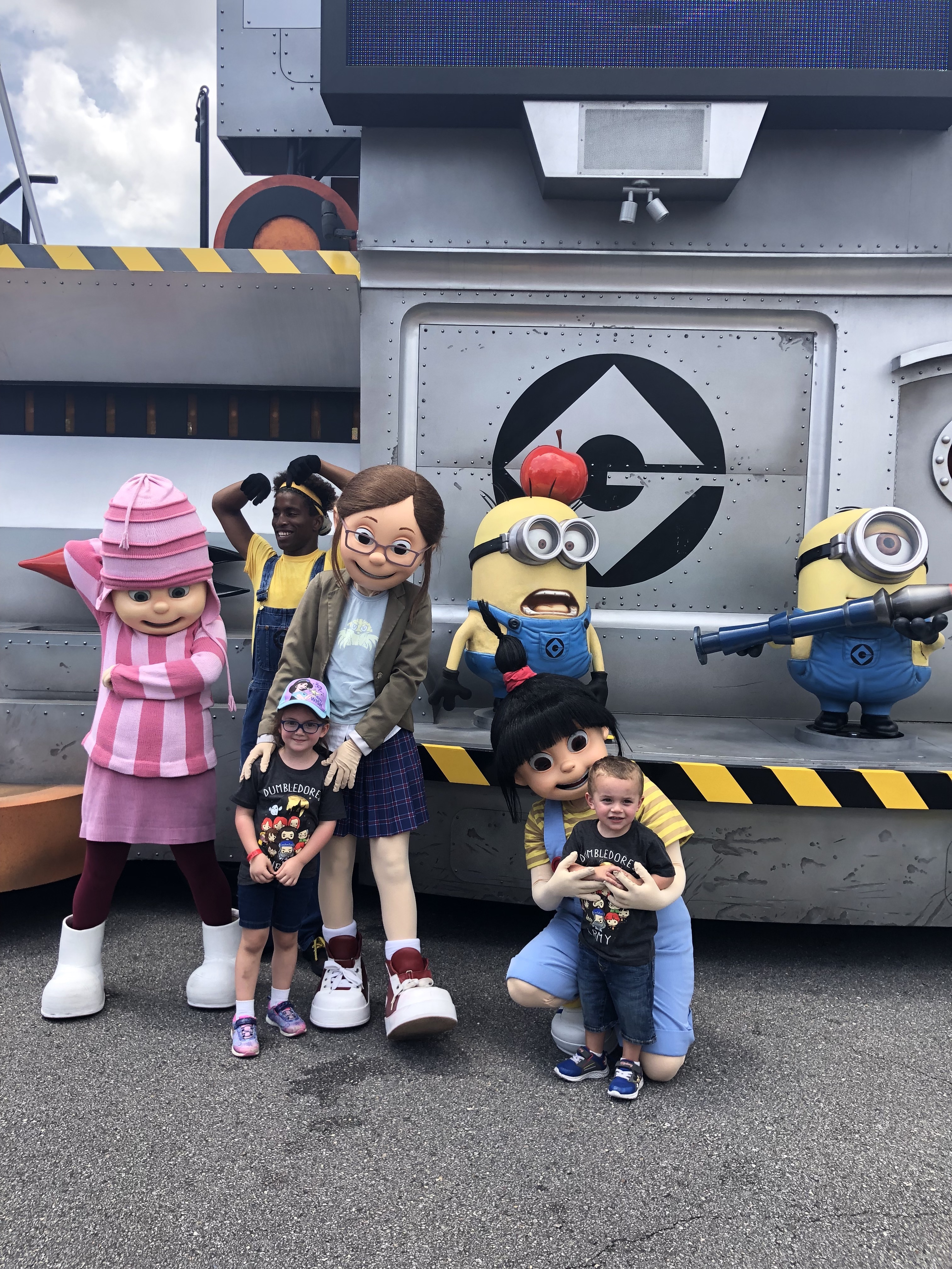 Visiting the Minions!