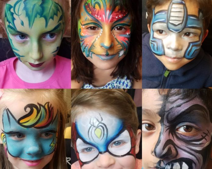 Birthday Party Jacksonville - Amazing Face Painting by Linda