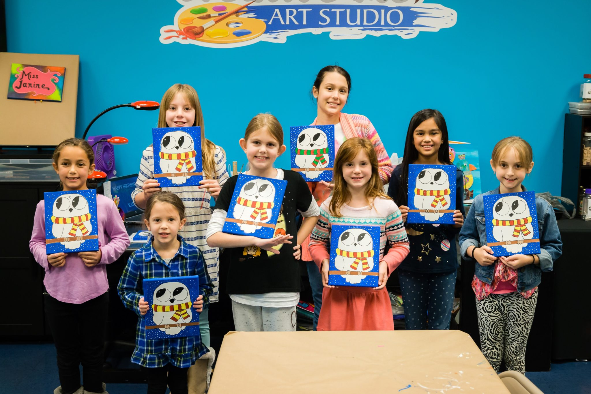 Creative Me Art Studio Birthday Party