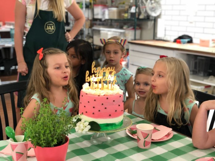 Jacksonville Birthday Party – Jax Cooking Studio