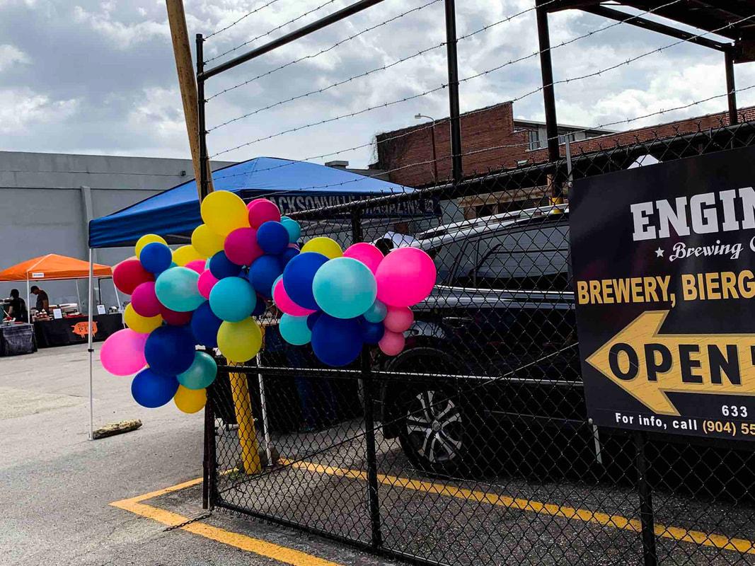 zig zag balloon birthday parties