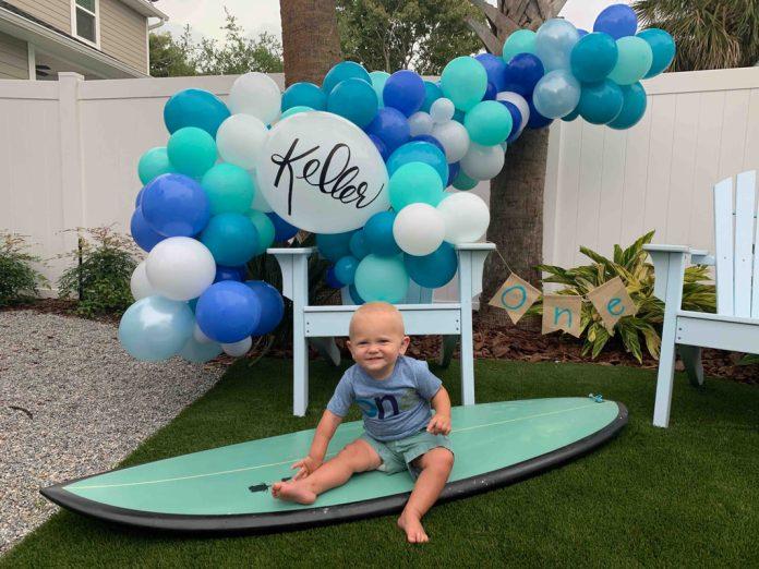 Birthday Party in Jacksonville -Zig Zag Balloon