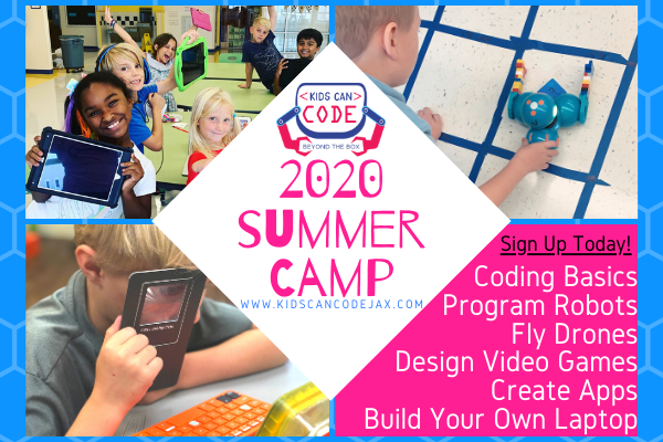 Kids Can Code Summer Camp