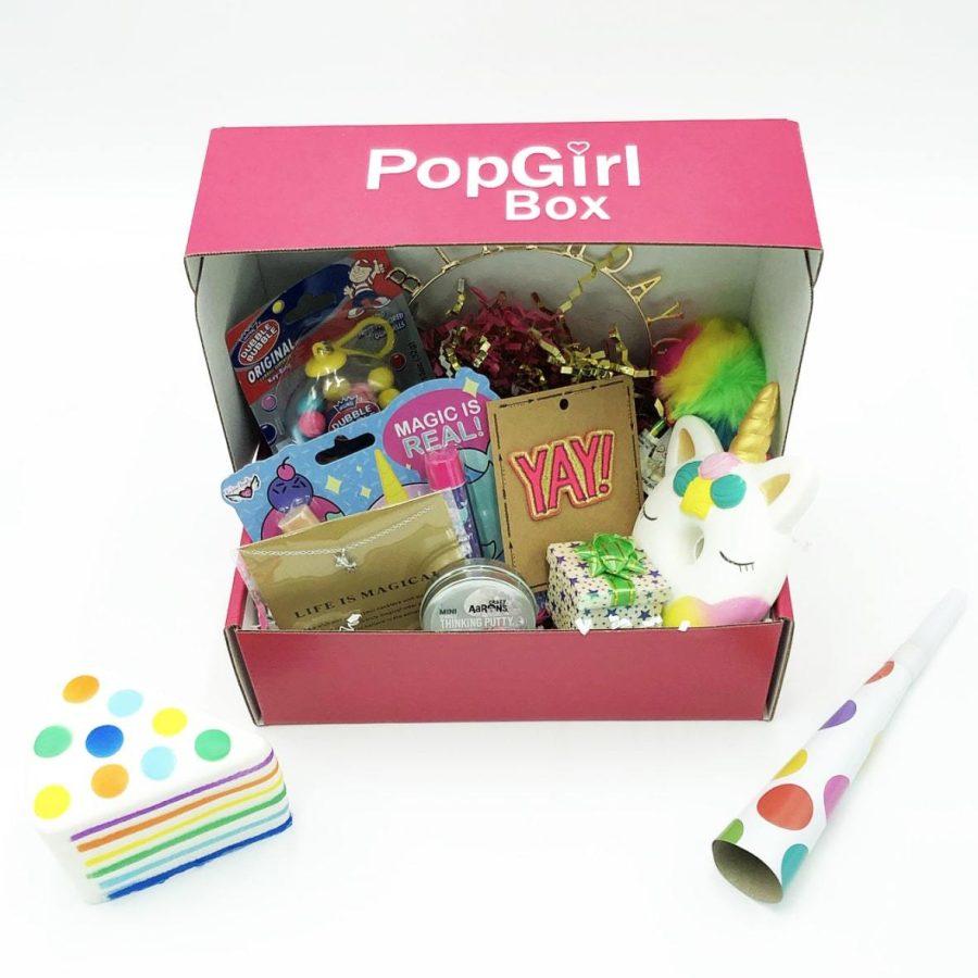 pop girl birthday box