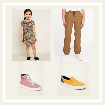 Old Navy kids' clothing