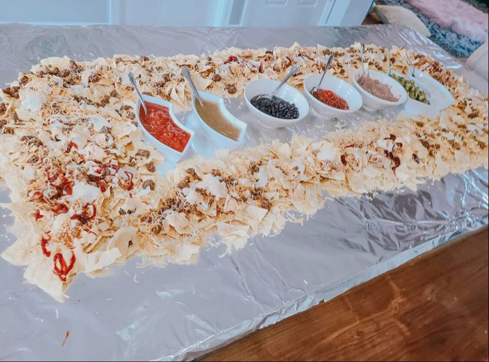 nacho table