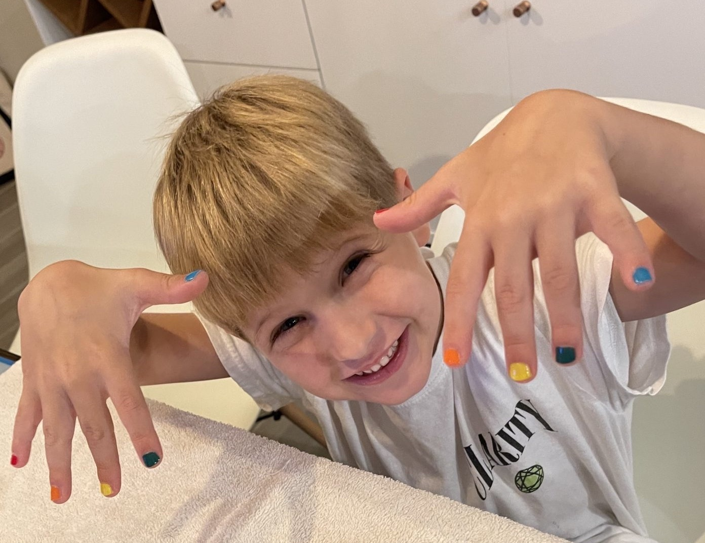 paint my son's nails